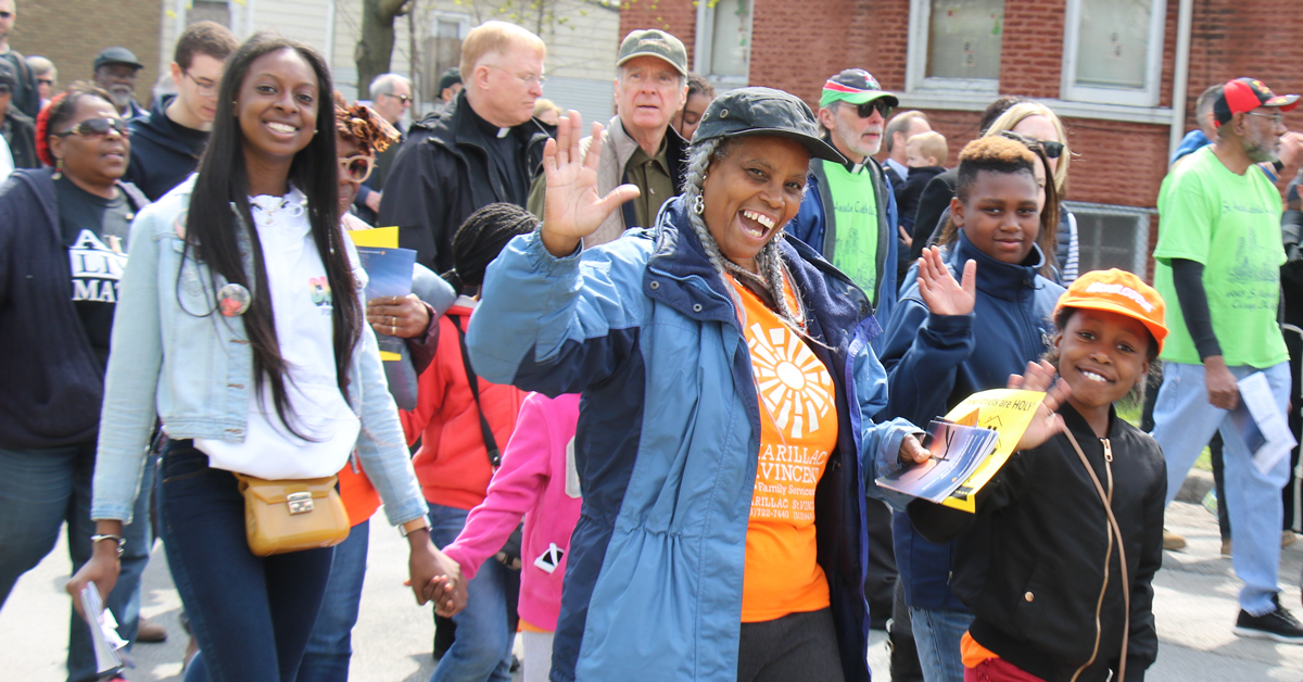 Marillac St. Vincent Participates in Good Friday Peace ...March For Peace Chicago